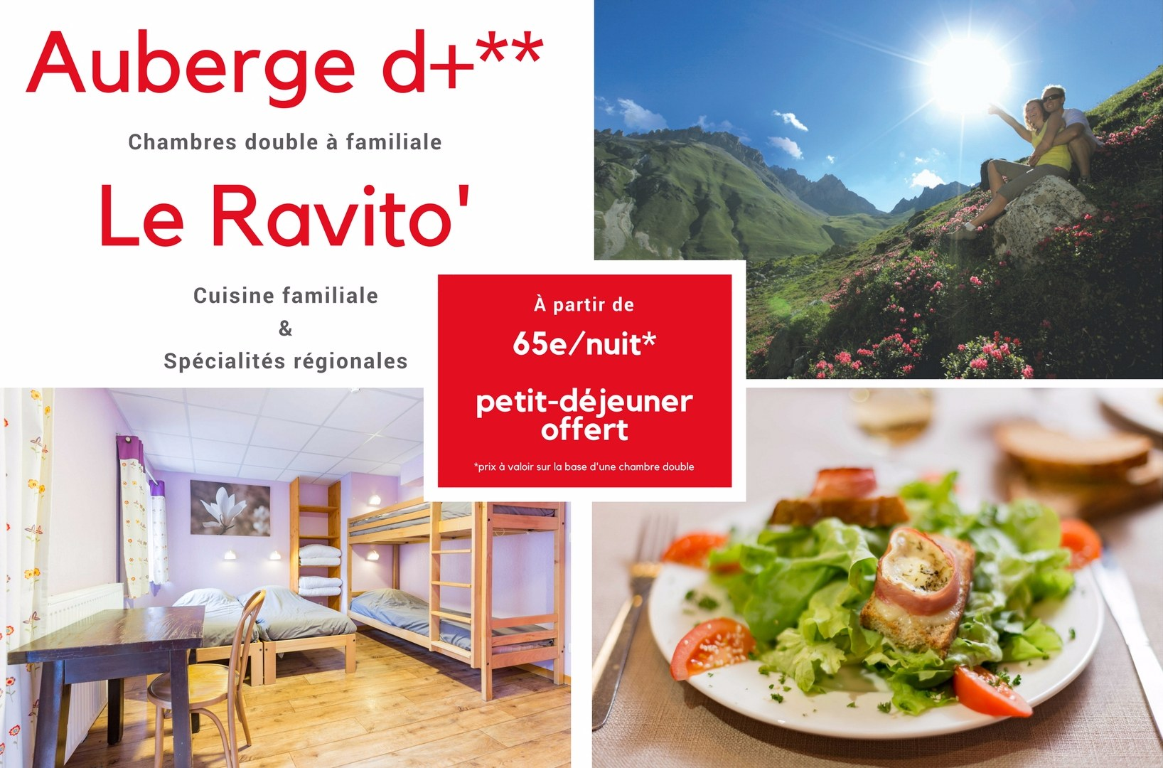 Home page auberge d+
