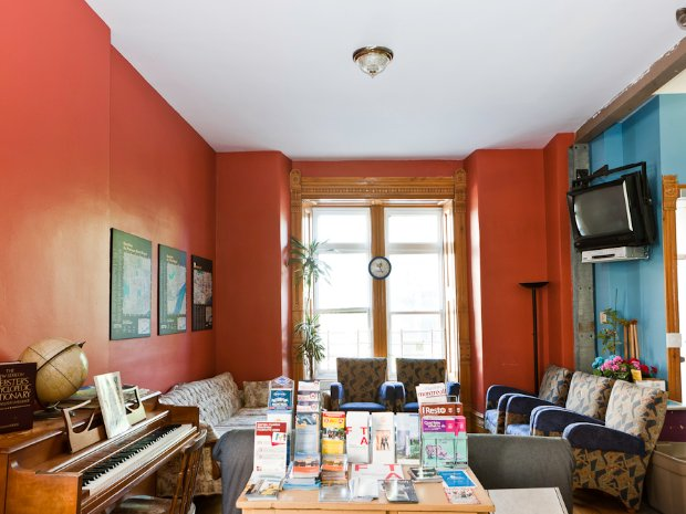 Salon de l'Auberge Gîte du Plateau Mont-Royal