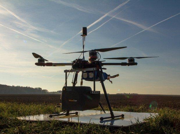 Drone AIRD'ECO-drone équipé LiDAR 28