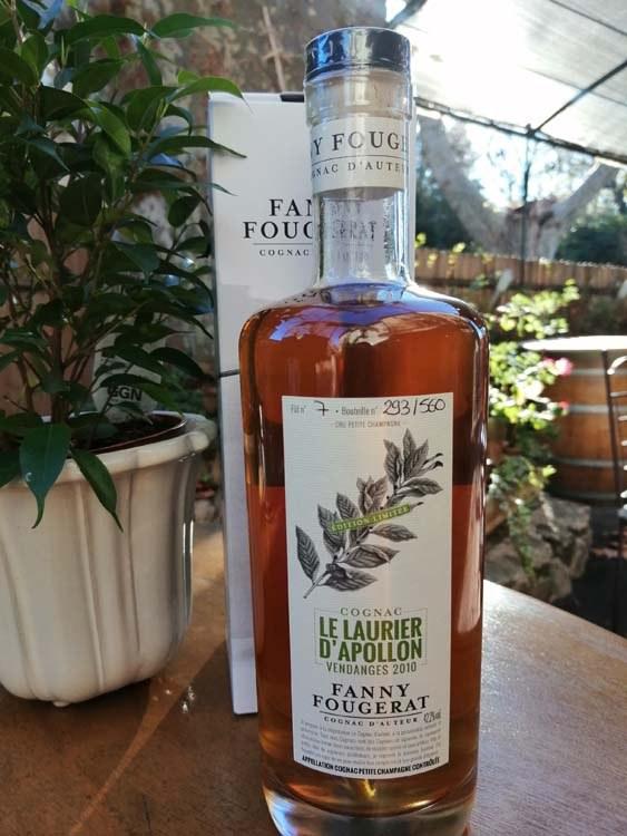 13.Fanny Fougerat. Le Laurier d'Apollon. Cognac d'Auteurs (2)