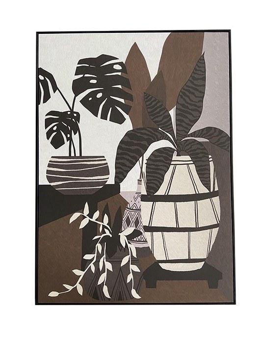 tableau plantes 100x140cm