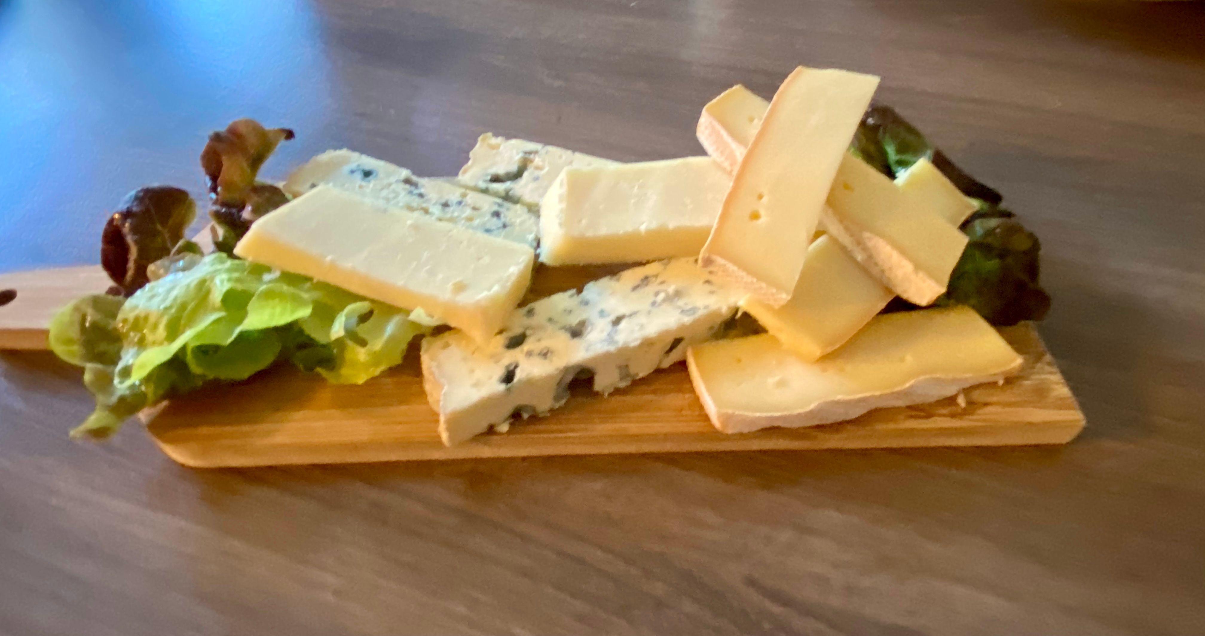 Planche de fromages d'Auvergne