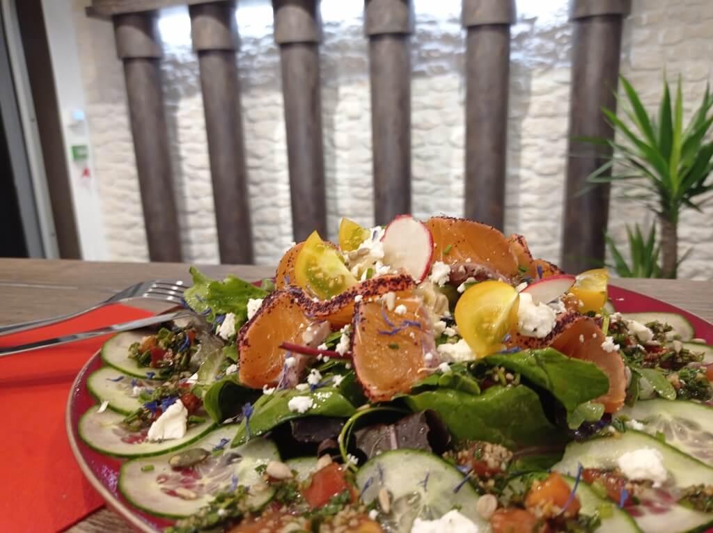le gravlax Diwan : restaurant libanais à Poitiers