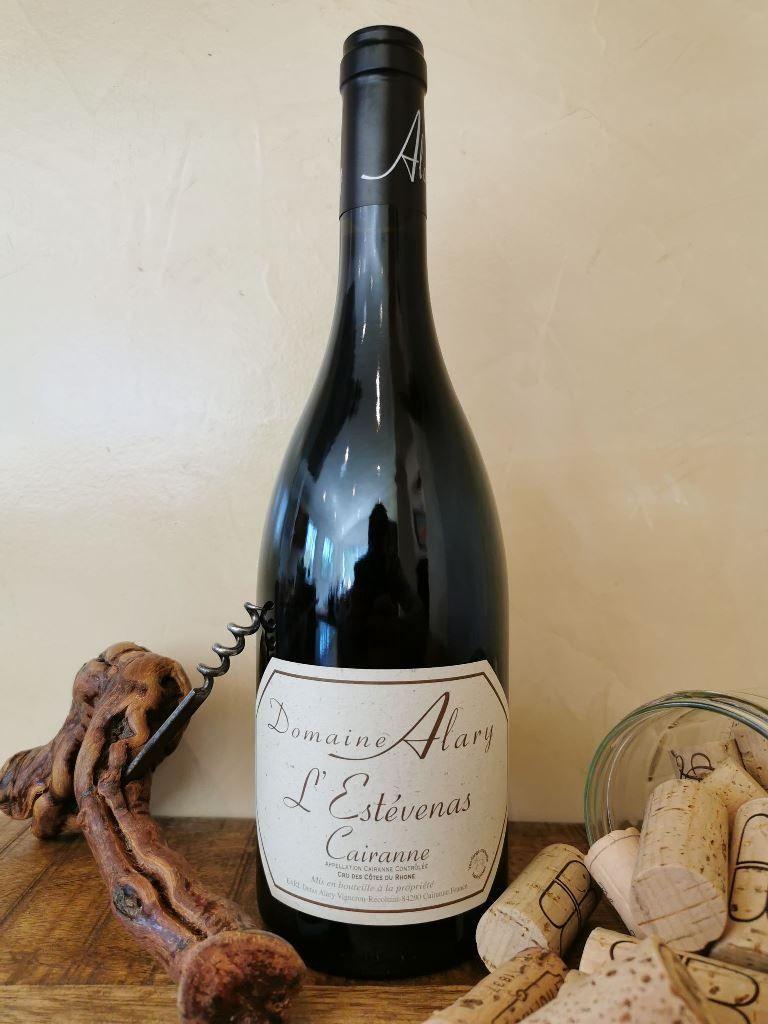 Selection de vin, cru Cairanne, Domaine Alary, rouge, Estevenas, cave à vin