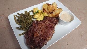 steak _ garniture