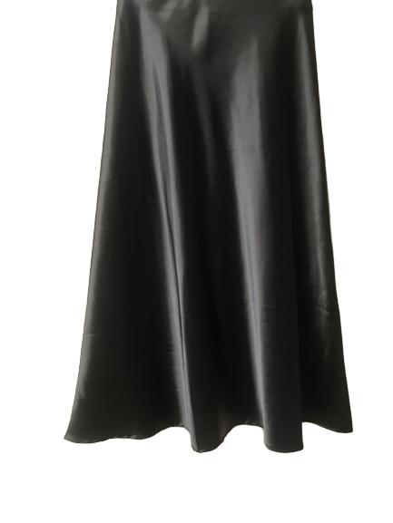 jupe fluide noir