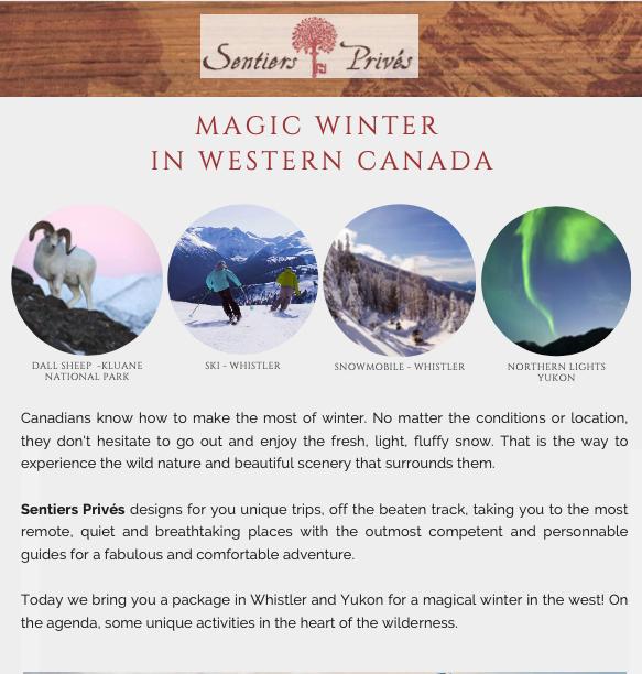 Yukon winter