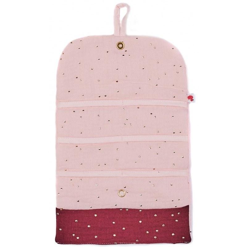 pochette-de-rangement-pour-barrettes-rose-prune-pois-or-bbco