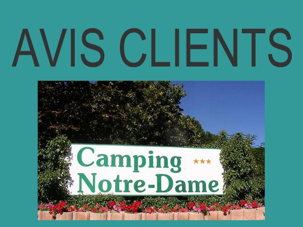 avis camping notre dame