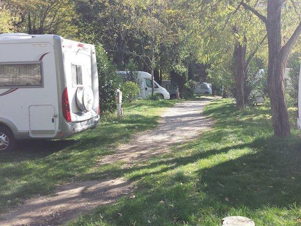 allée camping Ardèche