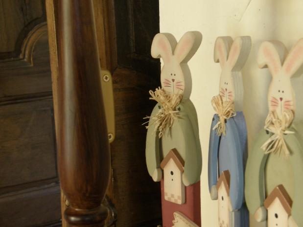 et quelques lapins...