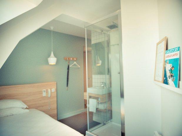La petite chambre d'ami de Guillaume Hotel Marin Laval