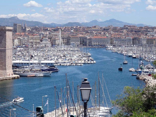Vieux Port Marseille Maison Boa