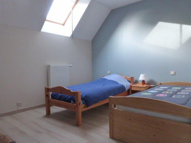 chambre 3 étage gîte moulin val orquaire Touraine
