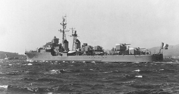 MBZ 1957 en mer