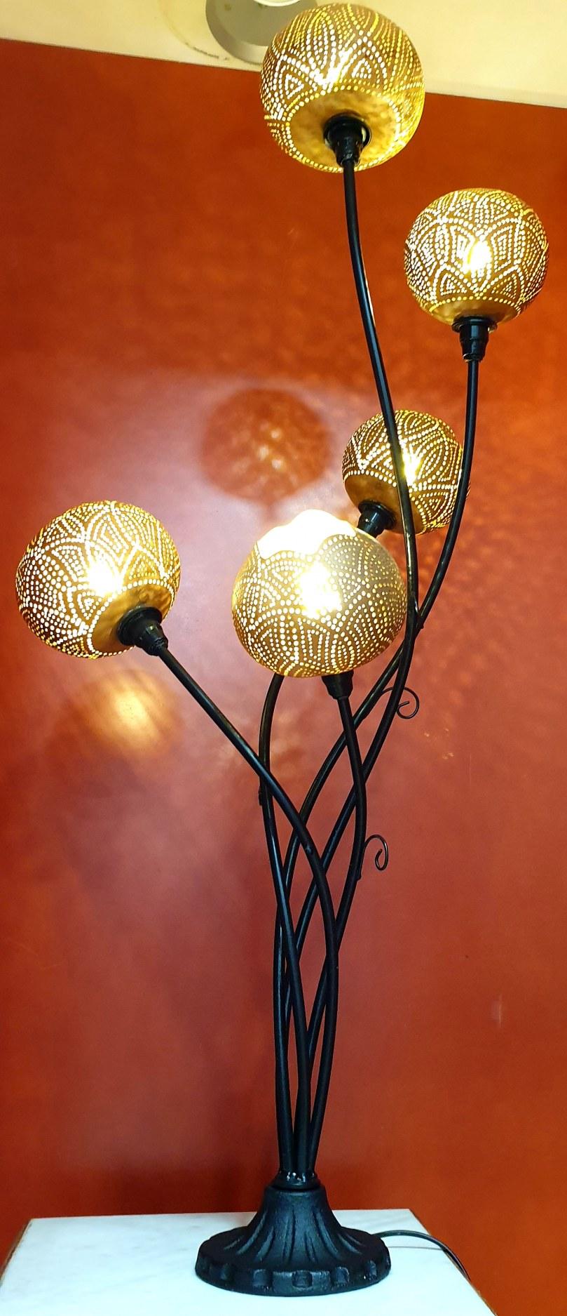 Lampe calebasses J&W Déco