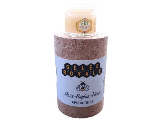 produit-gelée-royale Anne-Sophie Herin : votre apicultrice à Lagnieu