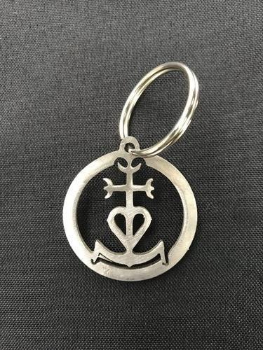 Porte-clefs Croix de Camargue