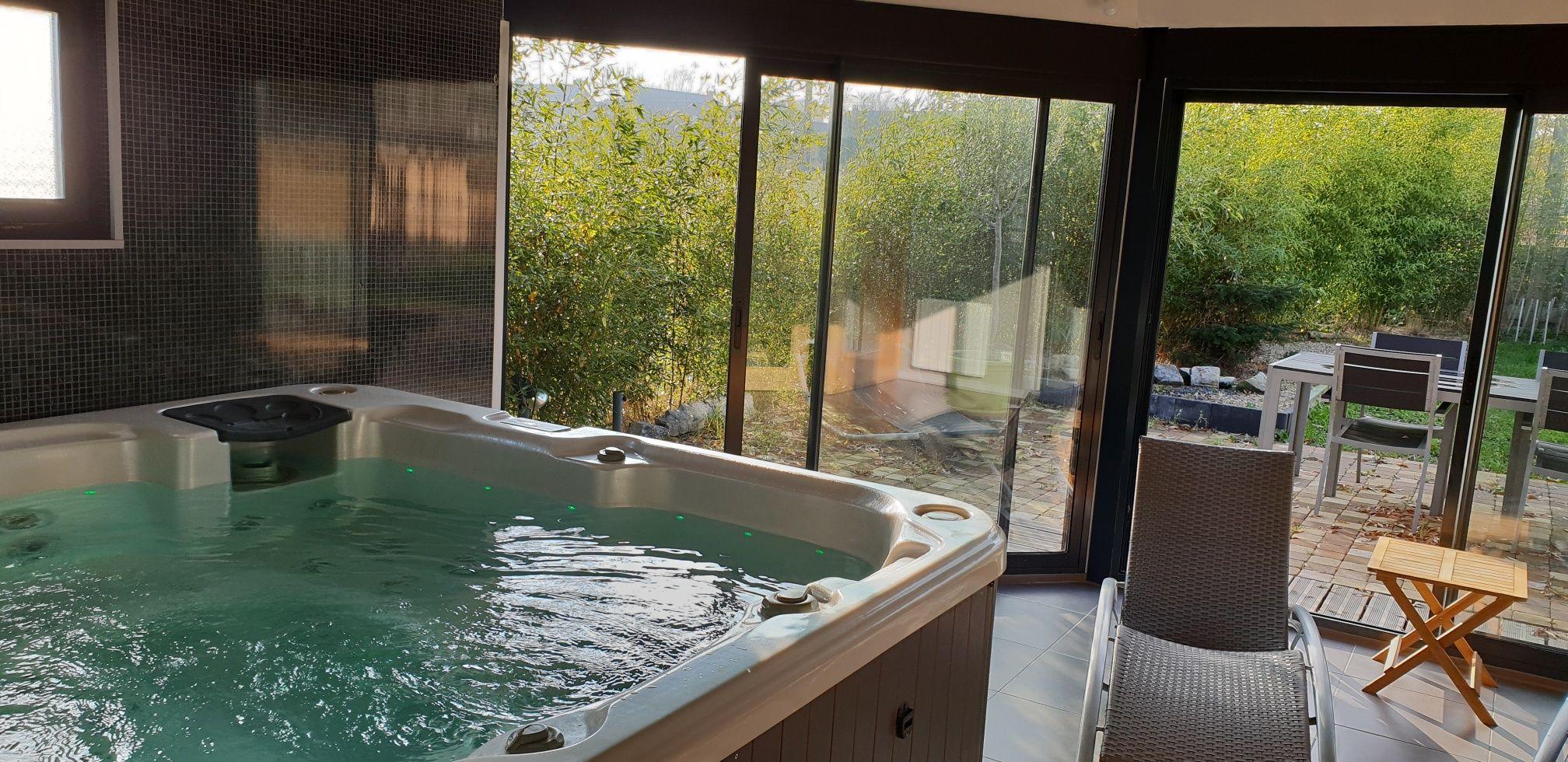 Natura zen chambre avec spa privatif proche lille de - Chambre avec jacuzzi nord pas de calais ...