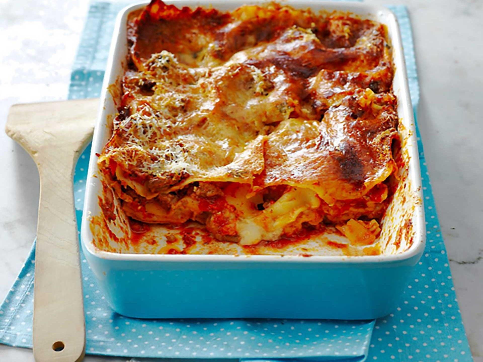 Lasagnes au bœuf bio (Or Fr) et Légumes