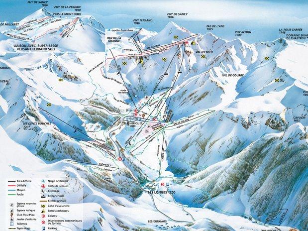 ski - tourisme - auvergne - la bourboule - mont dore - camping poutie - domaine skiable - puy de sancy