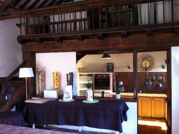 Cuisine gîte et chambres d'hôte Clos Joli