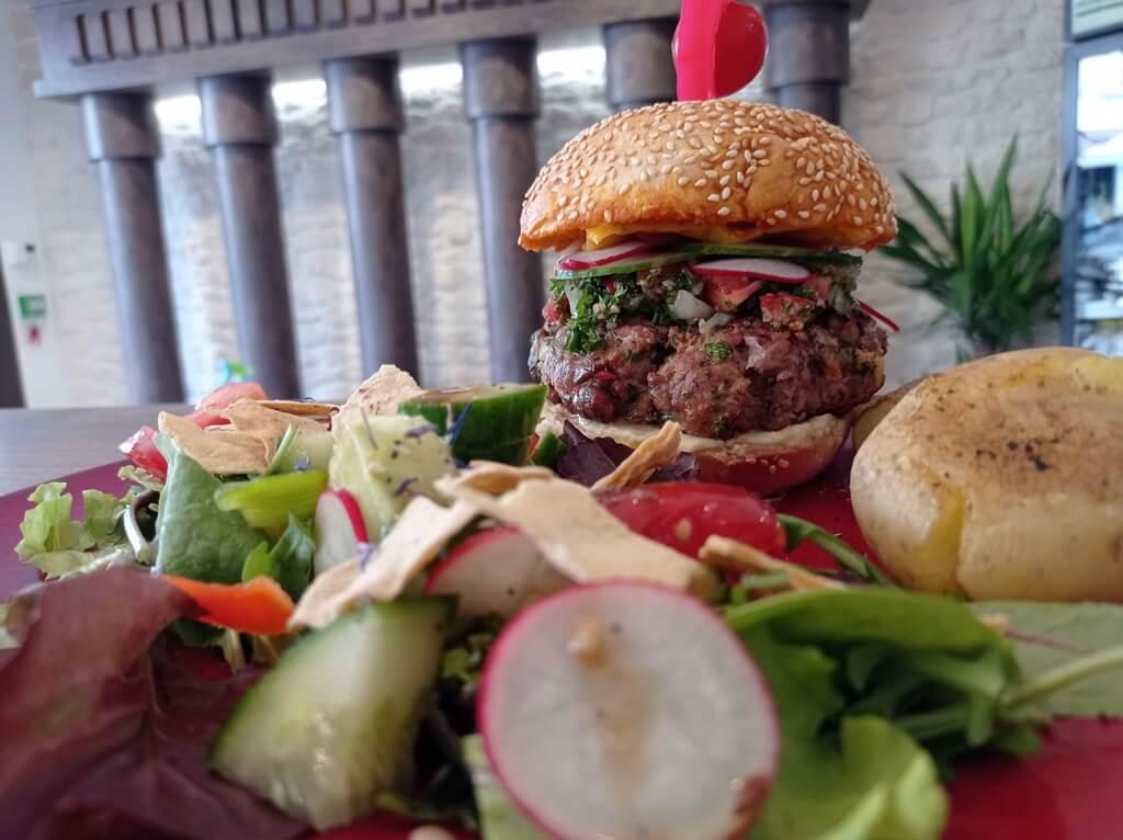 le Kafta Burger Diwan : restaurant libanais à Poitiers