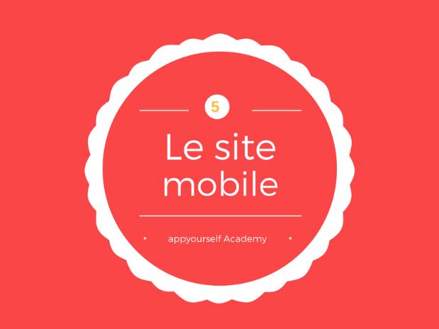 le site mobile