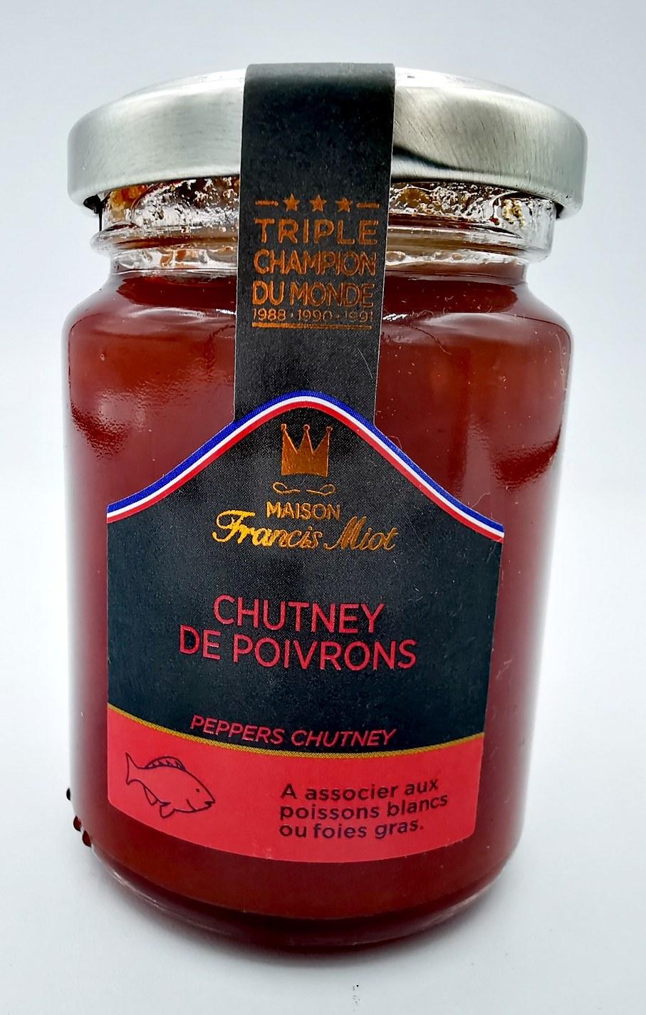 Chutney de Poivrons - Francis Miot - chutney - vallée d'aspe - saveurs associées