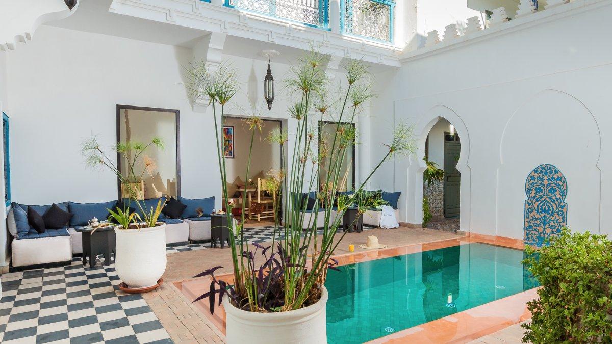 Piscine Riad Chamali Marrakech Maroc