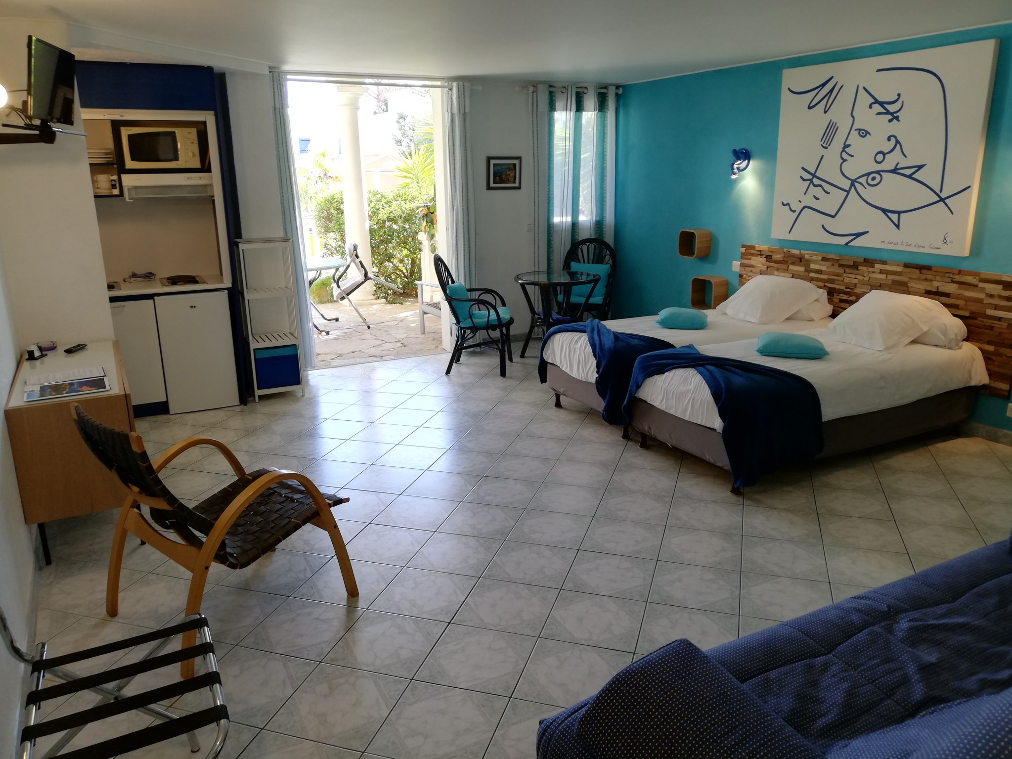 bed and breakfast saint raphael room Cocteau