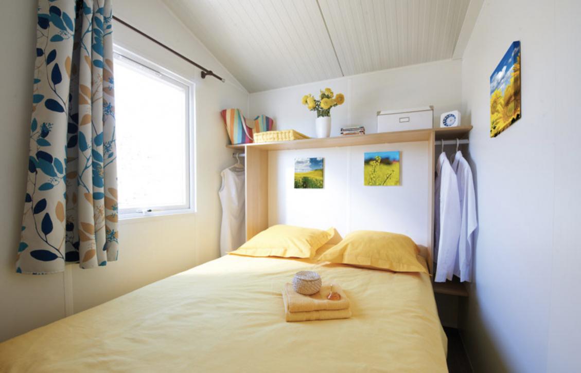 cottage toilé chambre camping vercors drome piscine chauffée lac