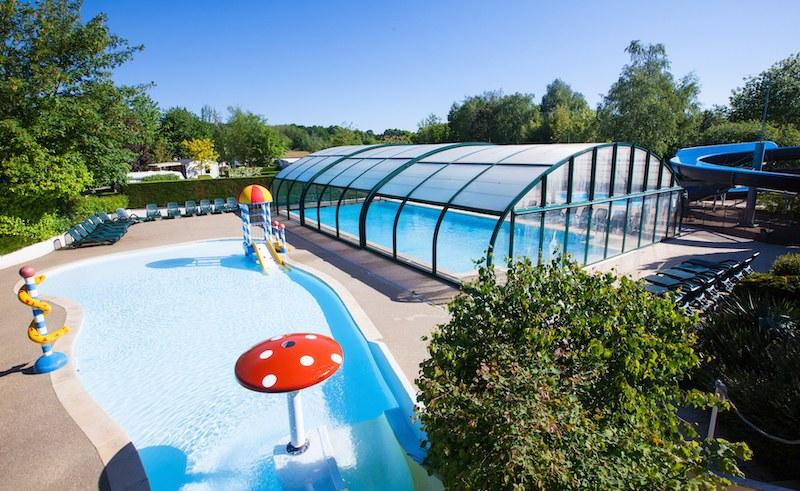 piscine couverte chauffée bontemps