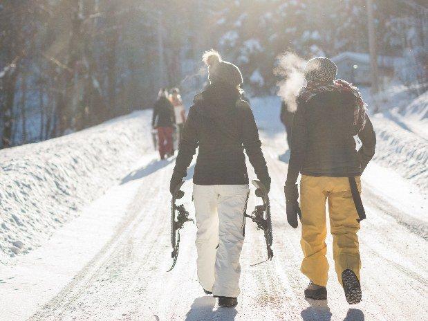 Raquette à neige et randonnée