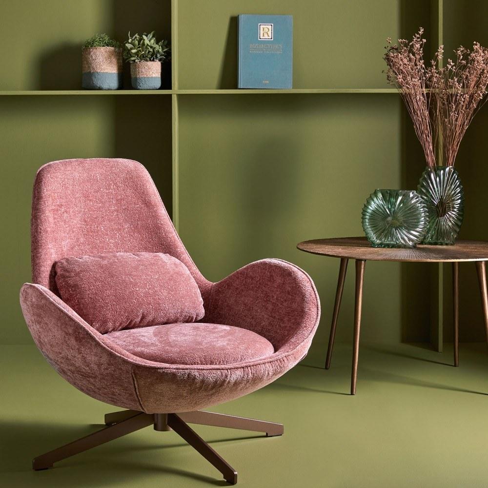 fauteuil-queen-rose-pivotant