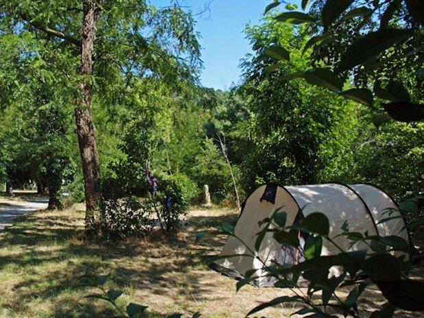 tente camping Ardèche