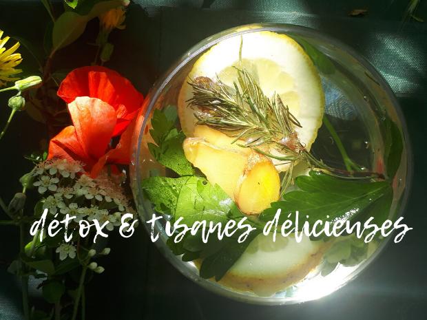 Détox & tisanes délicieuses