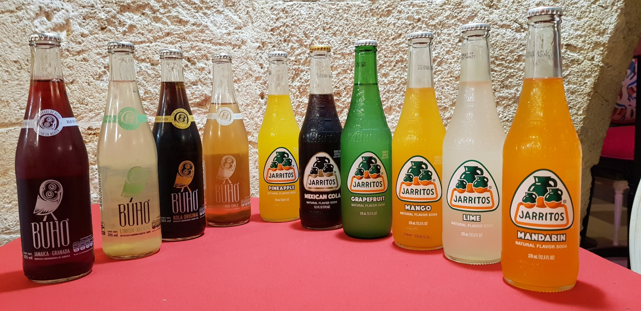 Boissons gazeuses mexicaines