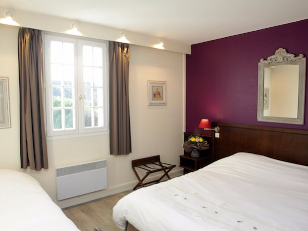 Hotel Les Nymphéas Eure Giverny chambre triple