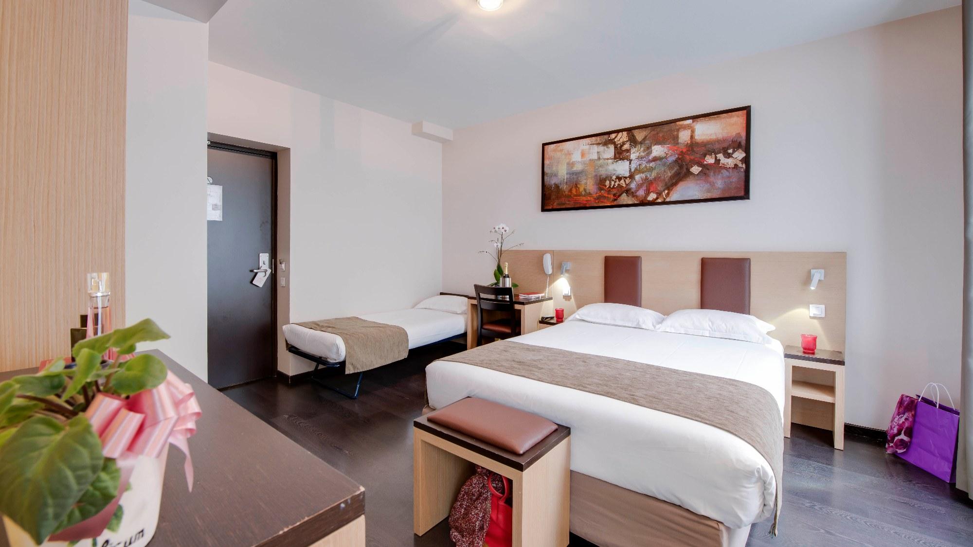 Chambre Hotel Source Paris