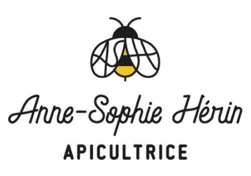 logo Anne-Sophie Herin : votre apicultrice à Lagnieu