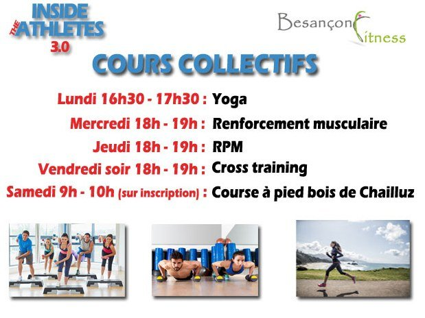 Cours collectif besançon fitness