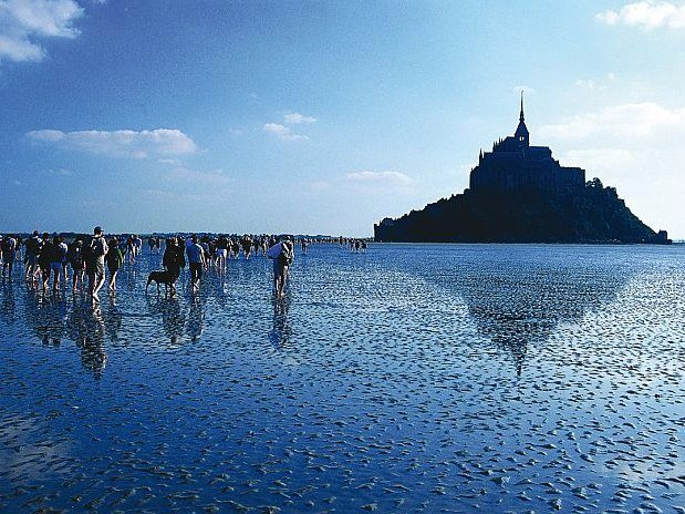 Traversée de la baie St Michel