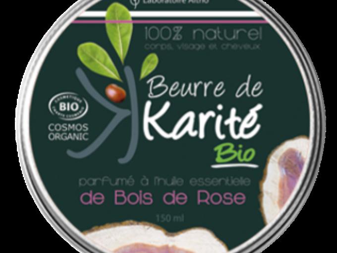 beurre karité bois de rose-bio