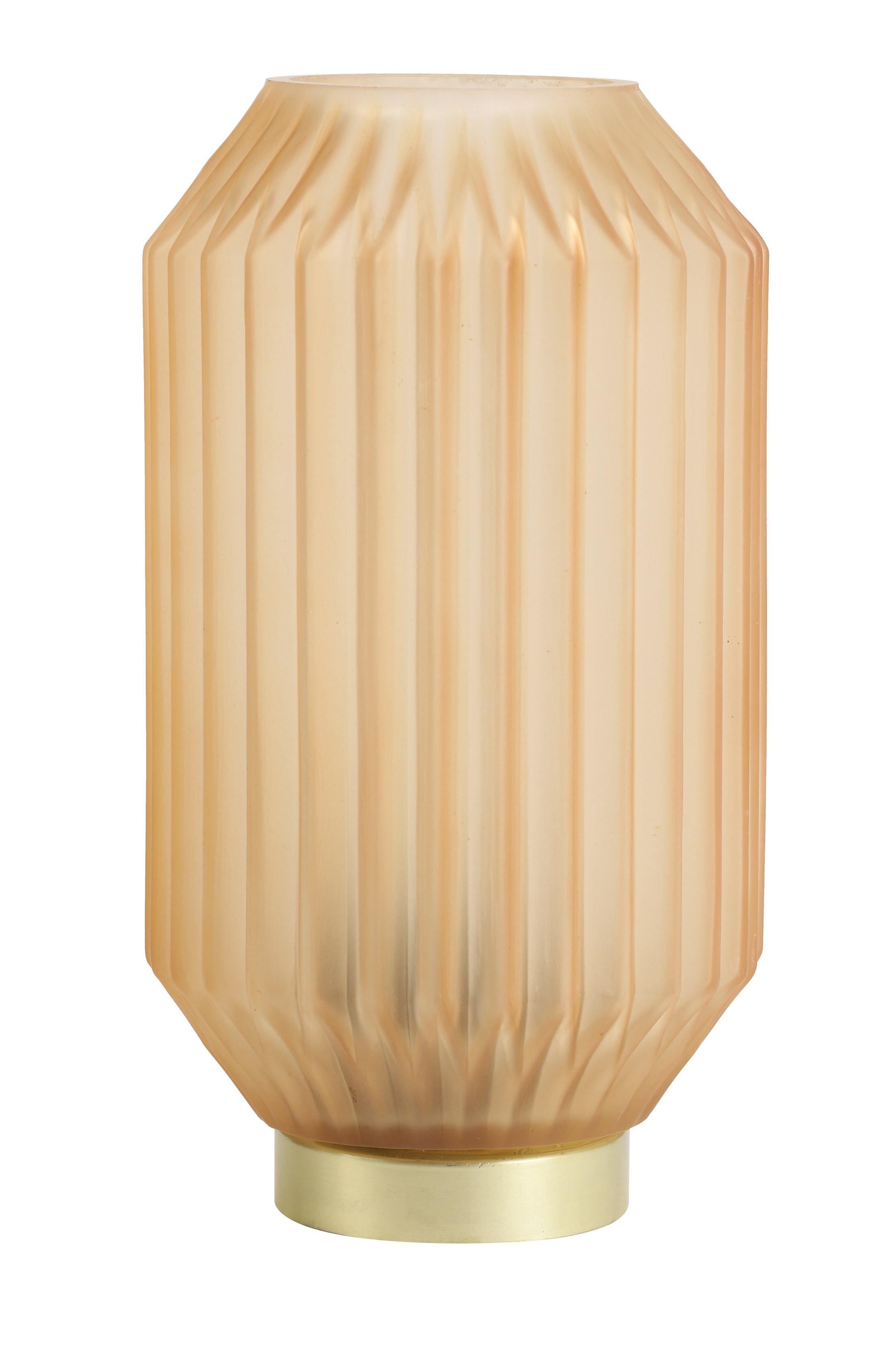 lampe à poser orange