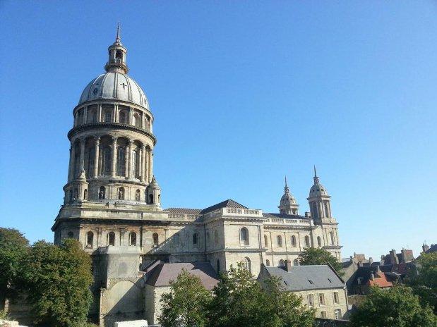 Cathédrale Boulogne sur Mer gîte rietz proche