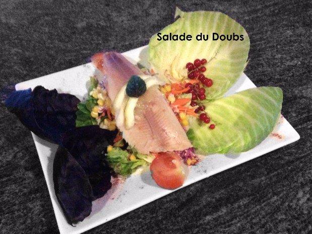 Salade du Doubs restaurant maison monsieur - la chaux de fonds