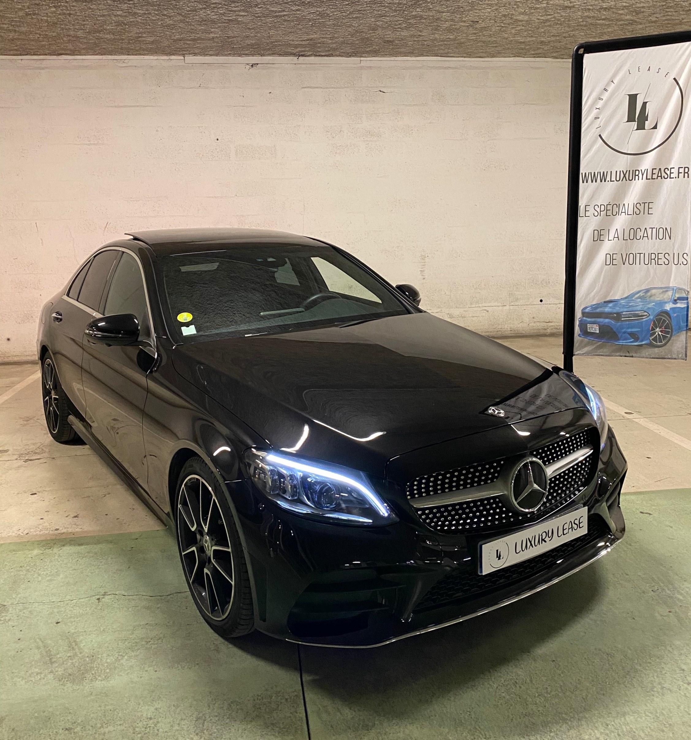 Mercedes noir