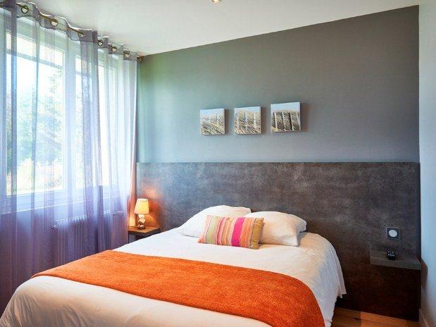 cozy-hotel-cosy-d-affaires-Morlaix-chambre-double-rez-de-chaussée