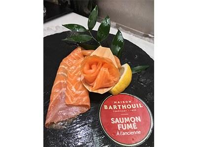 Saumon fumé Barthouil